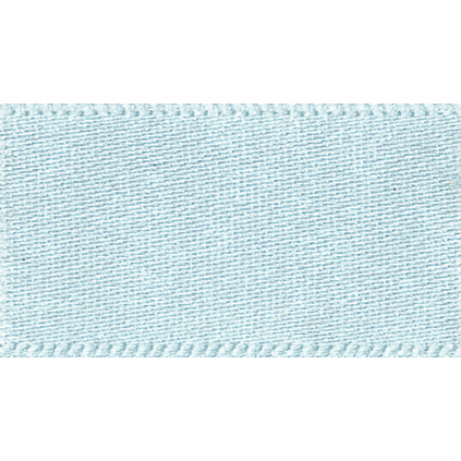 Satin Ribbon - Sky - 15mm - The Village Haberdashery