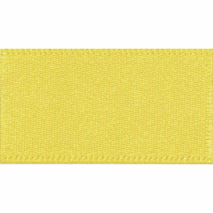 Satin Ribbon - Yellow - 3mm - The Village Haberdashery