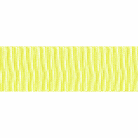 Grosgrain Ribbon - Lemon - 16mm - The Village Haberdashery