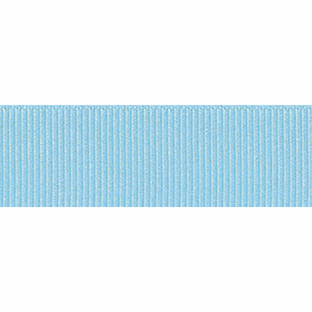 Grosgrain Ribbon - Sky - 16mm - The Village Haberdashery