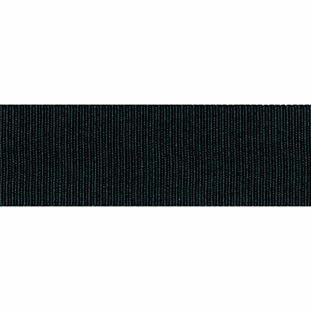 Grosgrain Ribbon - Black - 16mm - The Village Haberdashery
