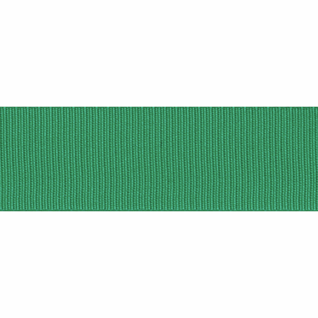 Grosgrain Ribbon - Emerald, 16mm - The Village Haberdashery