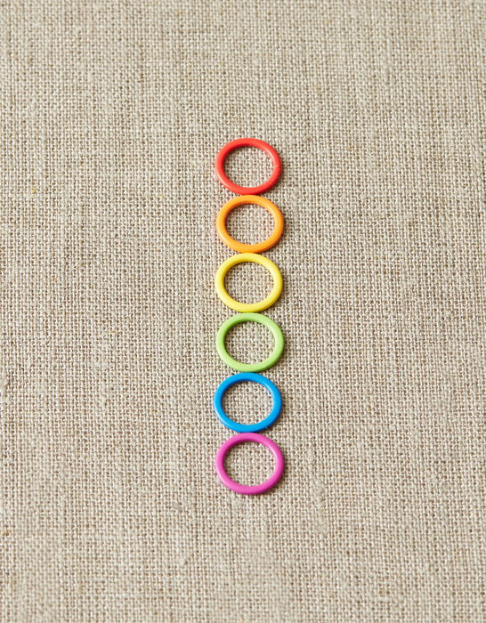 Coloured Stitch Markers by Cocoknits - The Village Haberdashery