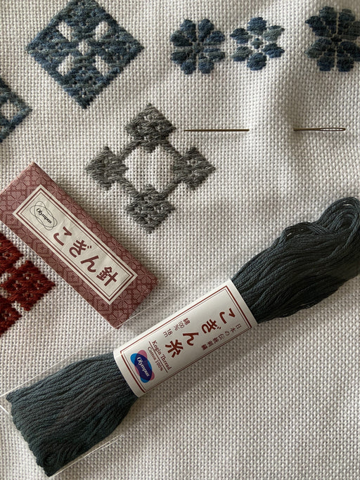 Kogin Embroidery Workshop with Rob Jones - The Village Haberdashery