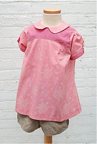Oliver + S - Puppet Show Tunic, Dress & Shorts in Small - PDF - The Village Haberdashery