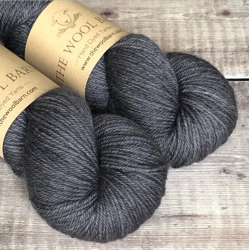 The Wool Barn - Cashmere Sock - Charcoal - The Village Haberdashery