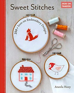 Sweet Stitches Iron-on Transfers by Aneela Hoey - The Village Haberdashery