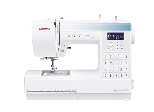 Janome Sewist 780DC Sewing Machine - MARCH/APRIL PREORDER - The Village Haberdashery