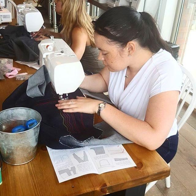 Jeans Masterclass with Charlotte Newland - The Village Haberdashery