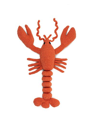 TOFT Crochet Amigurumi Kit: Joanna the Bright Lobster - The Village Haberdashery