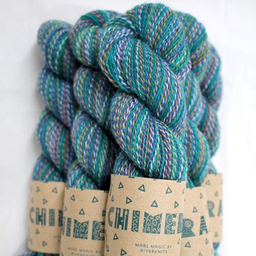 RiverKnits Chimera 4-Ply - Water - The Village Haberdashery