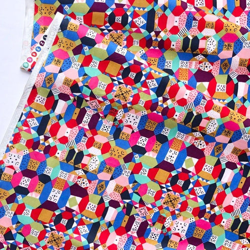 Candy Groove Cotton from Endless Summer by Monika Forsberg - The Village Haberdashery