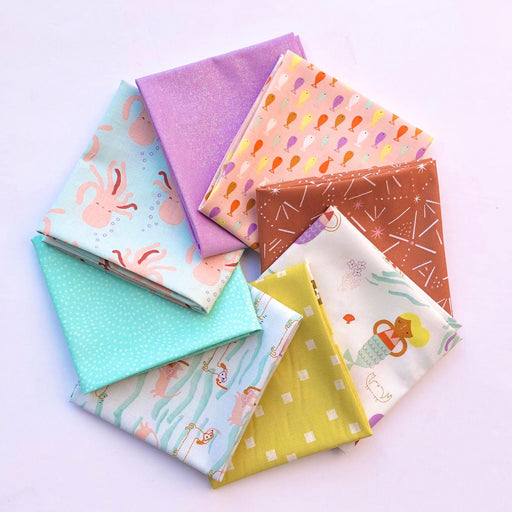 Under the Sea Fat Quarter Bundle - The Village Haberdashery