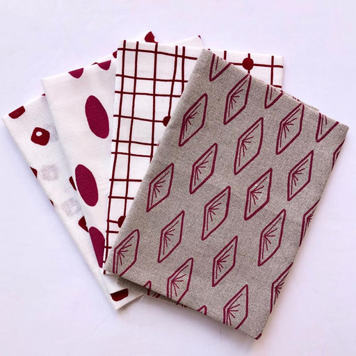 Colette Moscrop Fat Quarter Bundle - Ruby - The Village Haberdashery