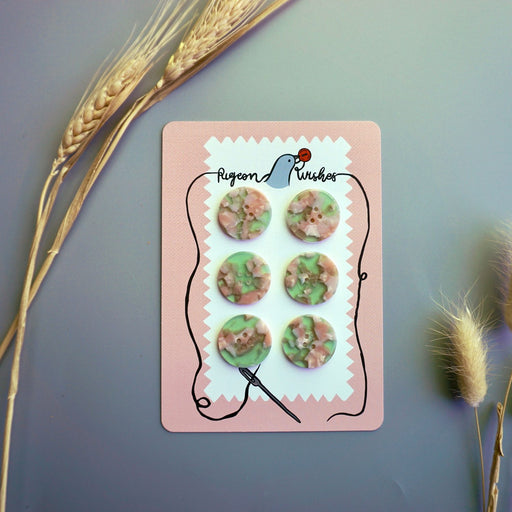Witches Brew 25mm Buttons by PigeonWishes - The Village Haberdashery