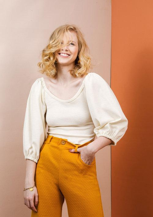 Friday Pattern Company - Adrienne Blouse - The Village Haberdashery