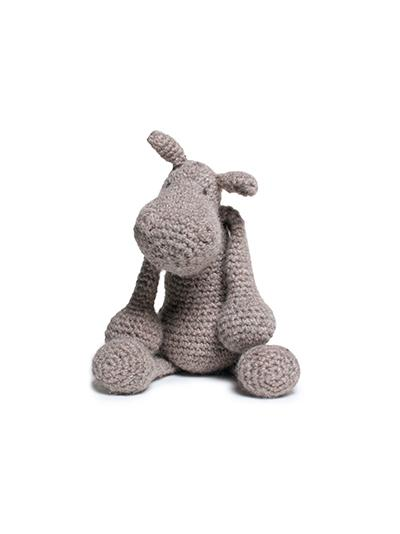 TOFT Crochet Amigurumi Kit: Georgina the Hippo - The Village Haberdashery
