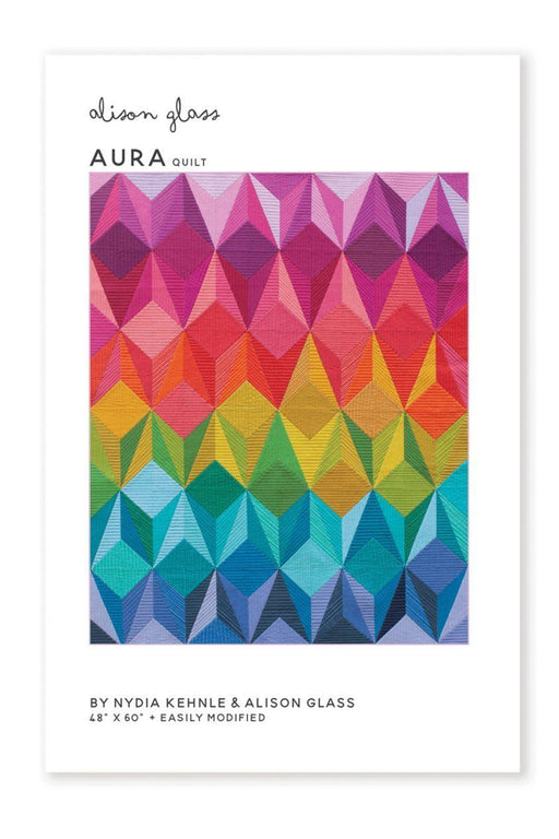 Patterns - Alison Glass Design - Aura Quilt Pattern
