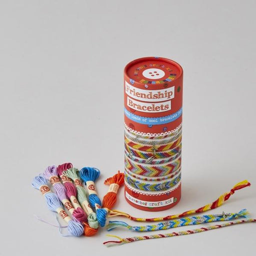 Buttonbag Friendship Bracelet Kit - The Village Haberdashery