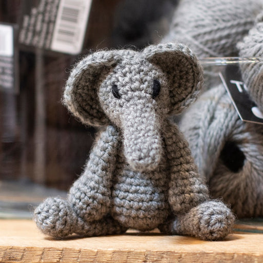 TOFT Mini Crochet Amigurumi Kit: Bridget the Elephant - The Village Haberdashery