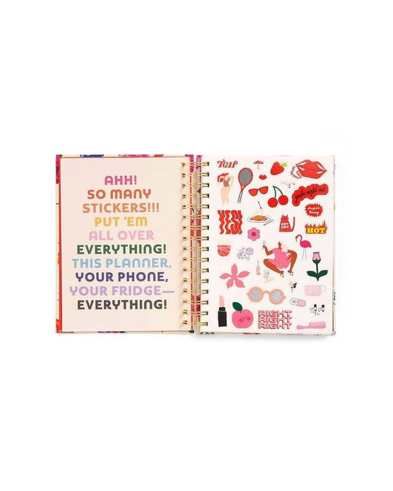 Ban.do Medium 17-Month Planner - Have Fun, Work Hard, Be Nice - The Village Haberdashery