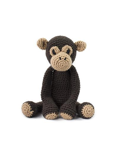 TOFT Crochet Amigurumi Kit: Benedict the Chimpanzee - The Village Haberdashery