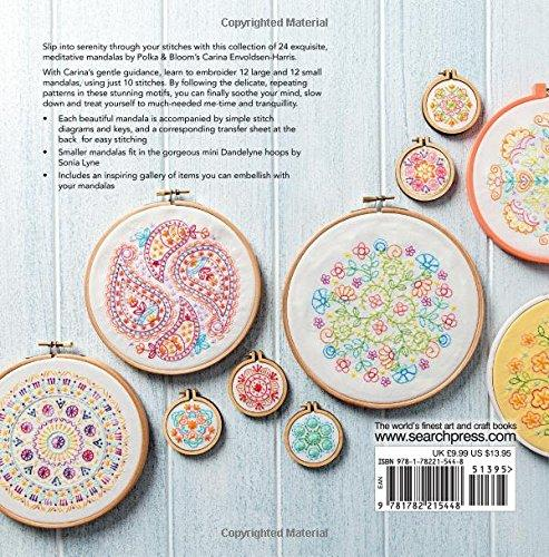 Mandalas to Embroider by Carina Envoldsen-Harris from Polka & Bloom - The Village Haberdashery