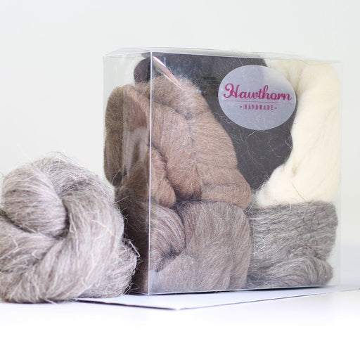 Felting & Spinning Wool - British Breeds Bundle No.2 - The Village Haberdashery