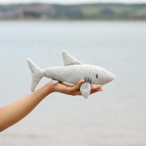 TOFT Crochet Amigurumi Kit: Bryce the Great White Shark - The Village Haberdashery