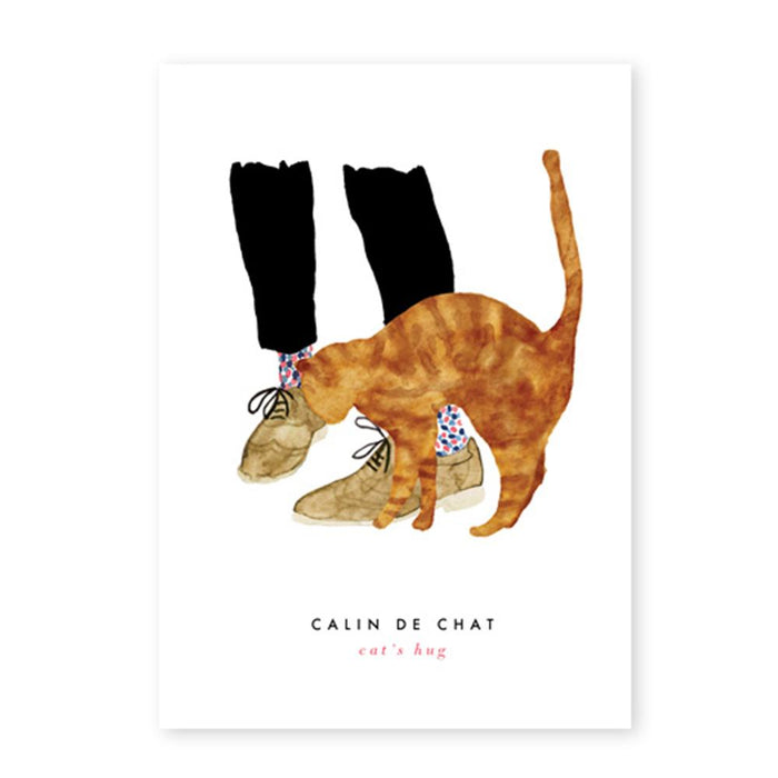 'Calin de Chat' Card by All the Ways to Say - The Village Haberdashery