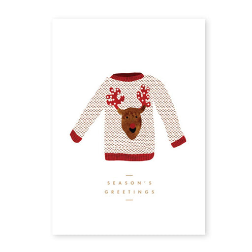 'Christmas Jumper' Card by All the Ways to Say - The Village Haberdashery