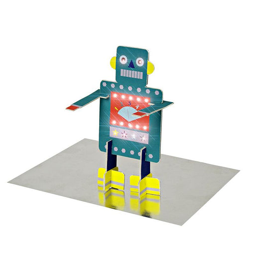'Stand-up Robot' Birthday Card by Meri Meri - The Village Haberdashery