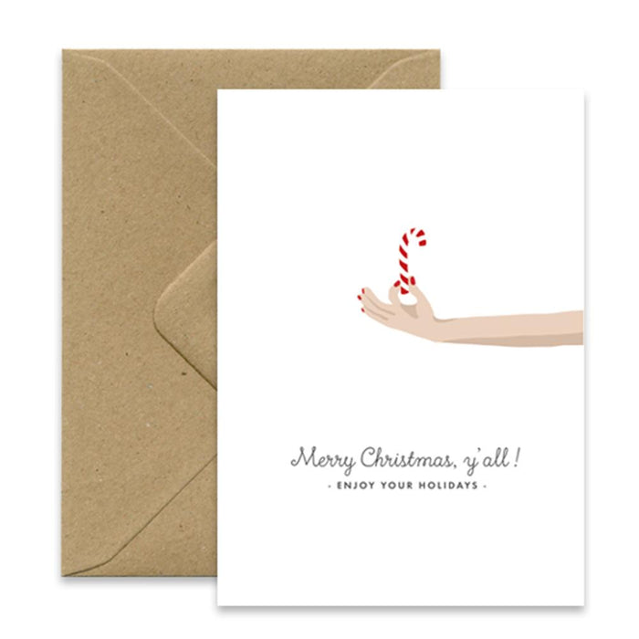 'Xmas Sugar' Christmas Card by All the Ways to Say - The Village Haberdashery