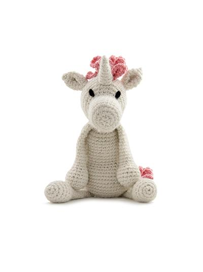 TOFT Crochet Amigurumi Kit: Chablis the Unicorn - The Village Haberdashery