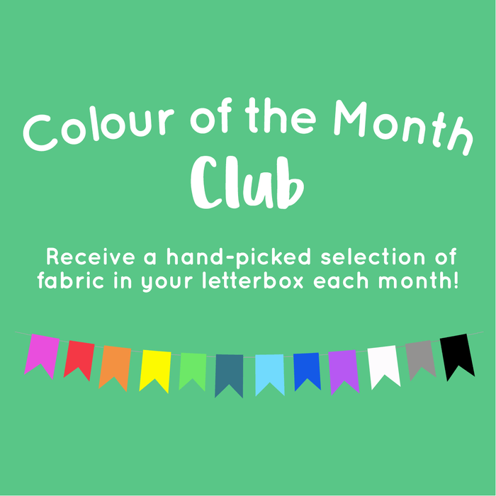 Colour of the Month Club Bundle - Designer Stash Builders - 10 Fat Quarters - The Village Haberdashery
