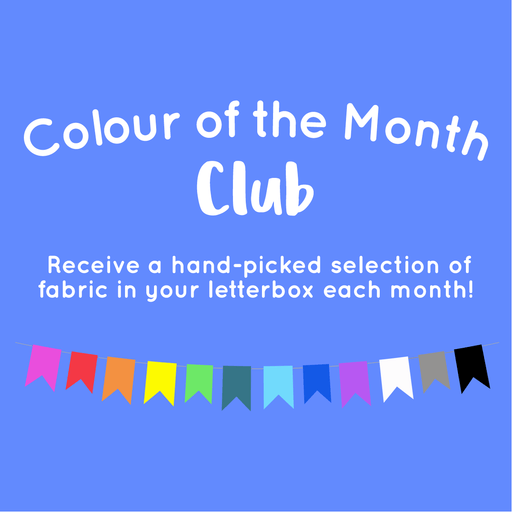 Colour of the Month Club Bundle - Kona Cotton Solids - 5 Fat Quarters - The Village Haberdashery