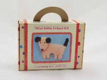 Buttonbag Mini Feltie Friend Kit - Puppy - The Village Haberdashery