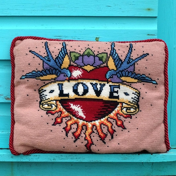 Emily Peacock - Love Tattoo Size Large - The Village Haberdashery