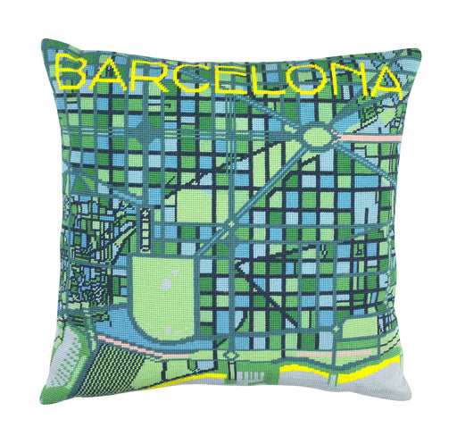 Hannah Bass Needlepoint Kit - Barcelona - The Village Haberdashery
