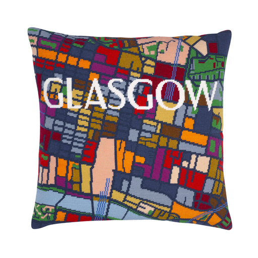 Hannah Bass Needlepoint Kit - Glasgow - The Village Haberdashery