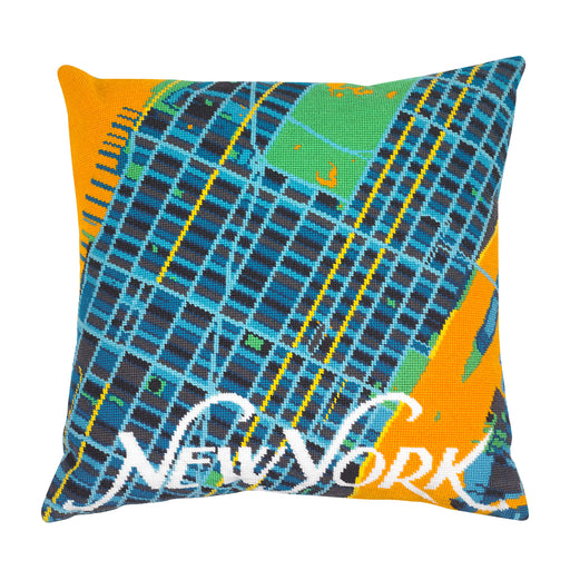 Hannah Bass Needlepoint Kit - New York Orange - The Village Haberdashery