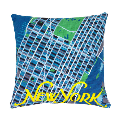 Hannah Bass Needlepoint Kit - New York Yellow - The Village Haberdashery