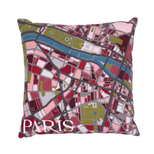 Hannah Bass Needlepoint Kit - Paris - The Village Haberdashery