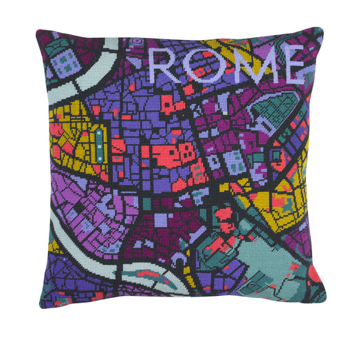 Hannah Bass Needlepoint Kit - Rome - The Village Haberdashery