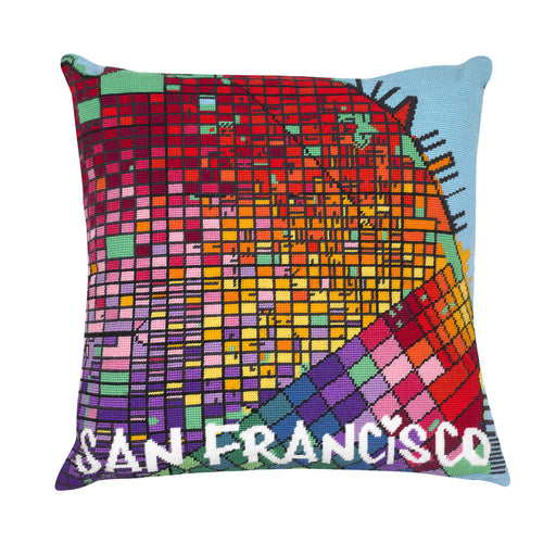 Hannah Bass Needlepoint Kit - San Francisco - The Village Haberdashery