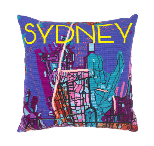 Hannah Bass Needlepoint Kit - Sydney Night - The Village Haberdashery