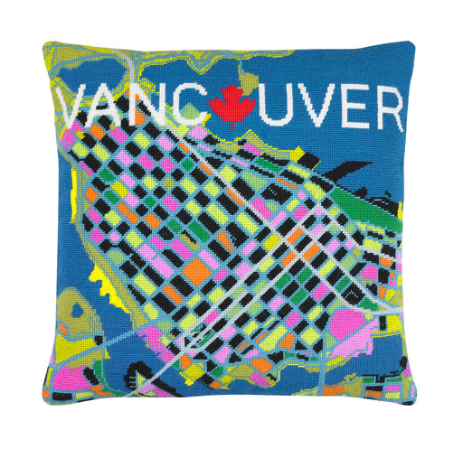 Hannah Bass Needlepoint Kit - Vancouver - The Village Haberdashery