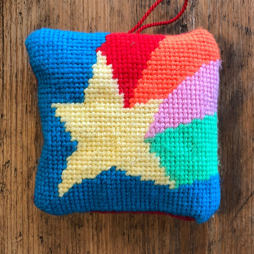 Tapestry Kit - Shooting Star Lavender Sachet - The Village Haberdashery