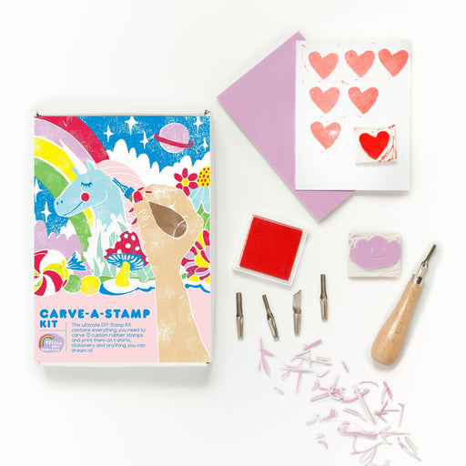 Yellow Owl Workshop - Carve a Stamp Kit - The Village Haberdashery