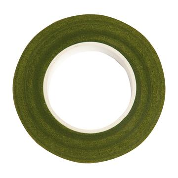 Floral Crepe Tape - Green - The Village Haberdashery